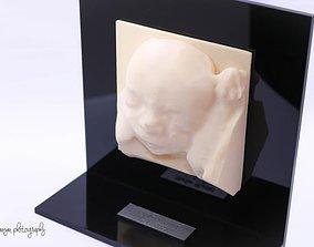 unborn baby 3D printable model