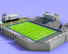 James M Shuart Stadium 3D asset