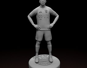 Ribery Bayern Munich Football Player STL files 3D print 1