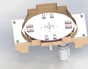Cam rotate platform 3D model
