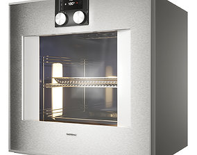 Gaggenau Oven BO420101 400 series 3D model PBR