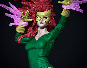 Jean Grey Marvel Girl version 3D printable model