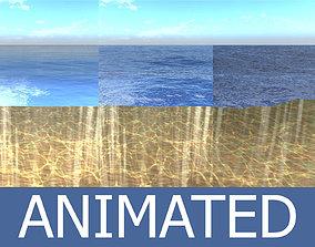 animated Ocean 3D