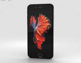 3D model 4g Apple iPhone 6s Space Gray