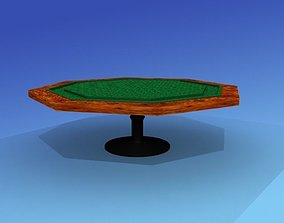 Professional Card Table 3D model