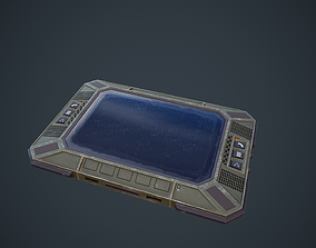 realtime Military Tablet Game Ready Model