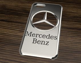 CARCASA IPHONE 7-8 MERCEDES BENZ 3D model
