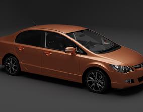 3D model Honda Civic 2009-2011