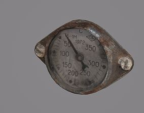 3D model Old thermometer