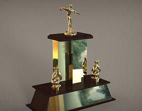 3D model Winner Cup trophy