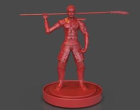 Steampunk Samurai 3D print model
