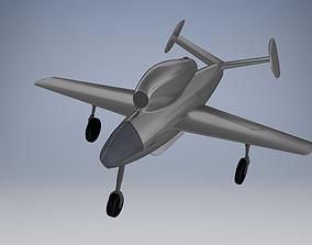 3D model Henschel Hs 132