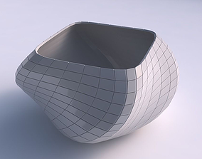 Bowl helix with grid plates 3D printable model
