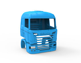 3D printable model Scania R730 V8 Cabin - Professional