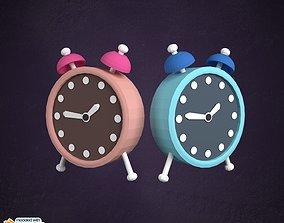 Cartoony Clock 3D model
