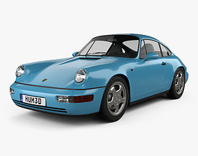 Porsche 911 Carrera RS Coupe 964 1992 3D