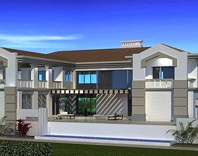 Luxury vila 3D model