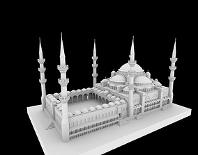 Mosque istanbul 3D model