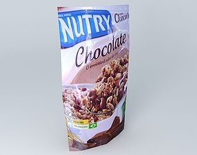 NUTRY CHOCOLATE 3D model