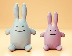 3D model Rabbit plush