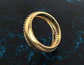 Ring 57 diamond-ring 3D print model