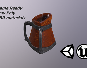 3D model Fantasy Clay Pitcher