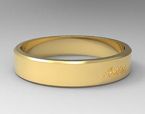 Artist Ring Gold 3D print model