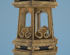 3D Japanese decorative stand