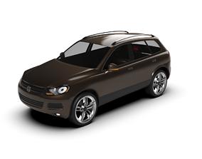 3D model Volkswagen Touareg 2011