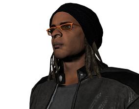 James gang of black dogs 3D model