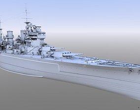 3D BATTLESHIP HMS PRINCE OF WALES
