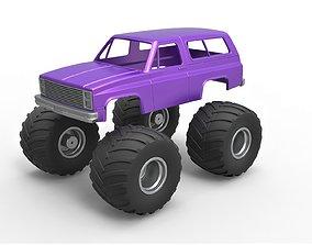 Diecast shell 1988 Chevrolet Blazer 3D print model 5