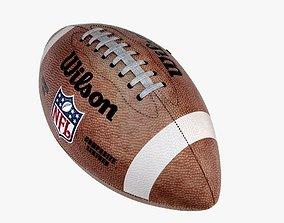 3D PBR American Football
