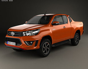 3D Toyota Hilux Double Cab Revo TRD Sportivo 2016