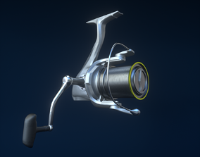 Fishing Reel 3D model