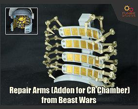 Repair Arms Addons for Transformers Beast 3D print model 2