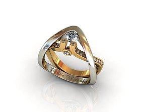 Ring rings fashion-challenge 3D printable model