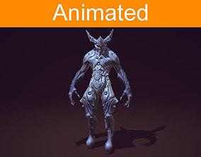 Creature Daemon 3D asset
