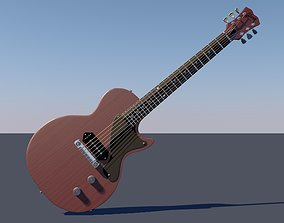 3D Gibson Les Paul Junior