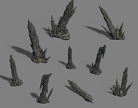 Zhaoshan - stone stone teeth 3D