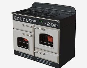 Falcon range cooker 3D asset