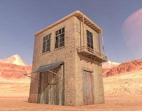 Afghan Old House 3D asset