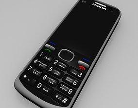 3D model Nokia C5 Mobile
