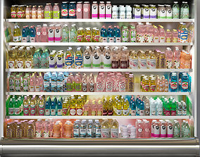 3D model Grocery Store Showcase