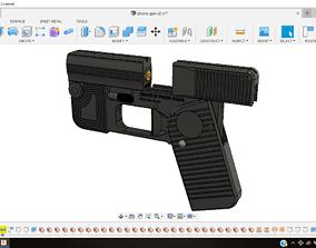 3D printable model Phone gun - self defense 9mm single 1