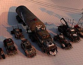 3D model Mini Battle Car Package