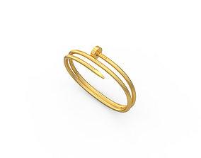3D print model Nail Bracelets Size 180mm