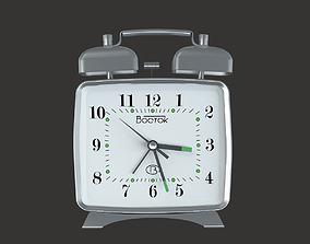 time ALARM CLOCK VOSTOK 3D model