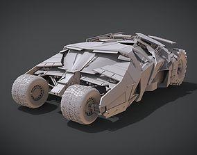 Batmans Tumbler 3D printable model