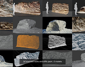 hike 3d scanned rock and cliffs